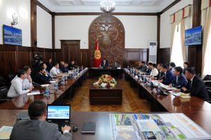 В правительстве презентовали проект по реконструкции ипподрома «Ак-Кула»