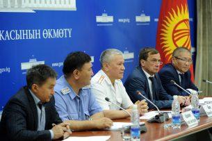 МВД составило карту придорожных школ Кыргызстана