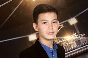 Кыргызстанец Урмат Мырсаканов выступил в Кремле в финале шоу «Ты супер»