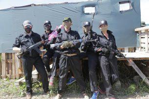 В Бишкеке прошел турнир по страйкболу среди СМИ