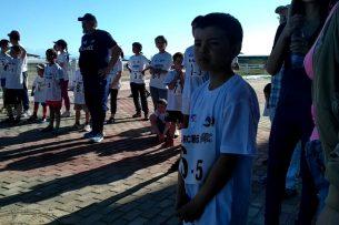 В Чолпон-Ате юные марафонцы приняли участие в забеге на 500 метров