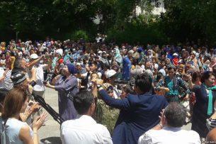 В Оше прошел концерт кыргызско-узбекской дружбы