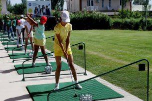 В Кыргызстане открылась Академия гольфа
