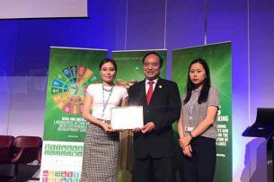 Кыргызстанские разработчики получили приз в категории «Благоприятная среда» на конкурсе в Женеве