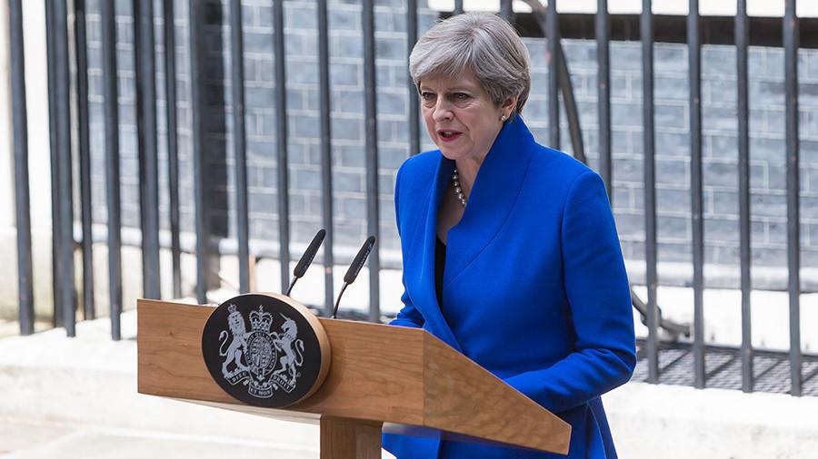 Мэй сообщила осотрудничестве Консервативной партии ссевероирландской