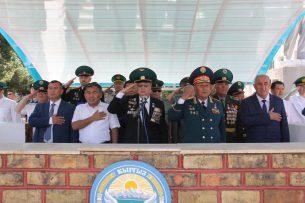 Ошский погранотряд отмечает 50-летний юбилей