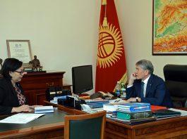 Президент Алмазбек Атамбаев заслушал информацию о ходе подготовки международного Форума алтаистов