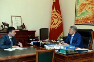 Президенту рассказали о предстоящем запуске ТЭЦ Бишкека после его модернизации