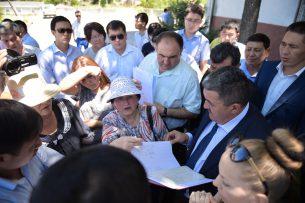 О чем просили мэра бишкекчане? Ибраимов провел встречу с активом Первомайского района
