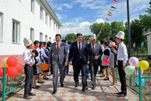 В селе Орнок Иссык-Кульского района открылась новая школа