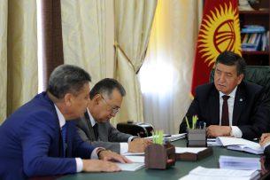 Премьер и директор ГАМСУМО подняли вопрос межэтнических отношений в Кыргызстане