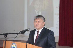 Министр экономики КР пожелал студентам не бояться своих комплексов