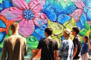 Жители ул. Токтоналиева нашли способ облагородить улицу: арт-группа Basicolors нарисует граффити