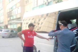 Водитель микроавтобуса издевался над пассажирами-инвалидами, ехавшими с Иссык-Куля