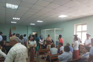 Дело Текебаева: Из зала суда выгоняют присутствующих