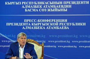 Жалею, что не успел решить вопрос с детдомами, — президент КР
