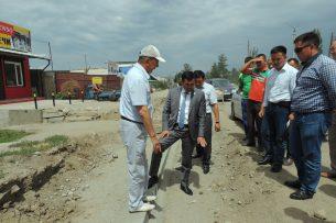 Капитальное строительство дороги в Караколе обойдется в 65 млн сомов