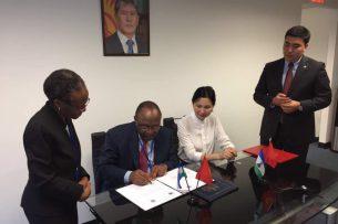 Кыргызстан и Королевство Лесото подписали совместное коммюнике