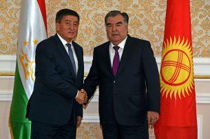 Сооронбай Жээнбеков: Кыргызстан придает особое значение отношениям добрососедства с Таджикистаном