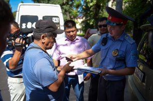 За несколько дней в Чуйской области выявлено более 1700 нарушений ПДД