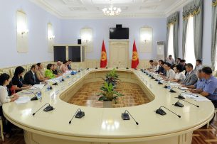 Обсуждены приоритетные направления Программы сотрудничества на 2018-2020 годы между правительством Кыргызстана и ЮНИСЕФ