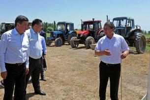 В фокусе внимания правительства Жээнбекова — плодородие пахотных земель