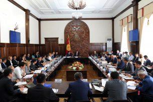 Правительство Сооронбая Жээнбекова добивается улучшения условий ведения бизнеса