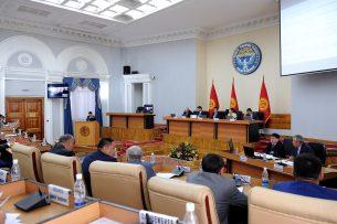 В правительстве утвердили Программу по разработке генпланов населенных пунктов КР на 2017-2025 годы