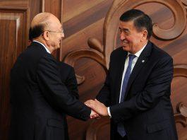 Жээнбеков: Кыргызстан готов экспортировать в Китай мясо, молоко, рыбу и другую сельхозпродукцию