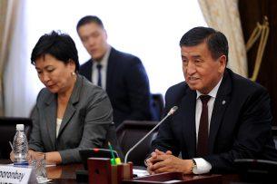 Премьер-министр Сооронбай Жээнбеков провел переговоры с инвесторами из США