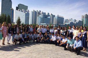 Музыканты из Бишкека принимают участие в фестивалях оркестров в городе Астана