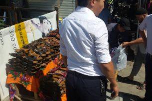 Муниципалитет начал борьбу со стихийной торговлей на Ошском рынке