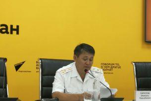 Патрульная милиция: смертность на дорогах Кыргызстана сократилось на 19%