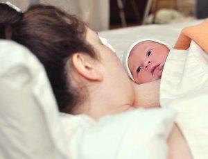 родила ребенка