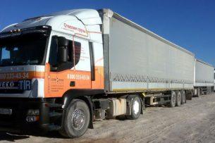 Объем перевозок грузов между Кыргызстаном и Казахстаном с начала года вырос на 14%