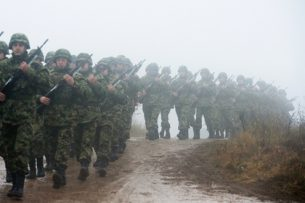 Кыргызские военные принимают участие в армейских международных играх в России