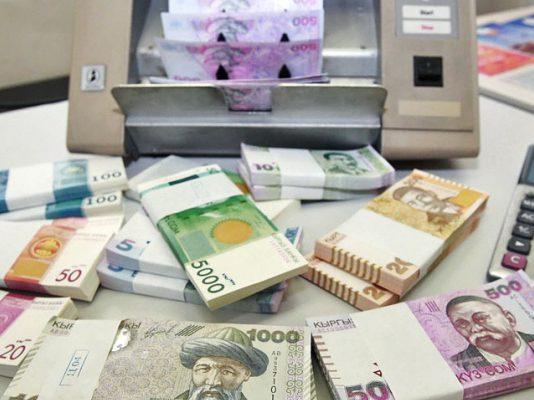 За 5 месяцев хозяйствующие субъекты возвратили в бюджет 2,2 млрд сомов