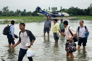 Алмазбек Атамбаев выразил соболезнования президенту Непала в связи с жертвами в результате наводнения