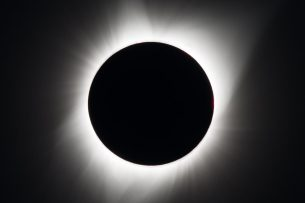 Солнечное затмение над США (фото)