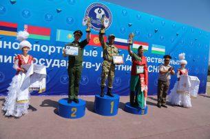 Кыргызские военные стали призерами II Военно-спортивных игр дружественных армий СНГ