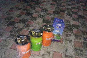 Контрабанда газовых баллонов из Таджикистана задержана в Баткене