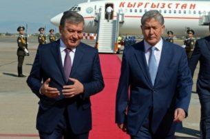 Президент Узбекистана посетит Кыргызстан