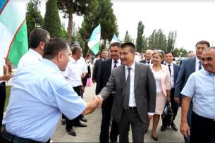 Вице-мэр Оша принял участие в бизнес-форуме в Узбекистане