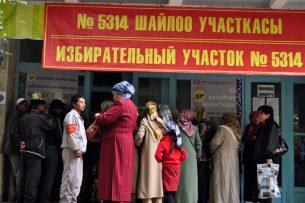 Вывески на избирательных участках в КР написаны с ошибками