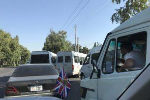 Посол Великобритании в КР возмущен манерой езды водителей маршруток в Бишкеке