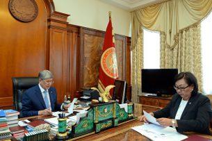 Атамбаеву рассказали о подготовке к конференции «Ислам в современном светском государстве»