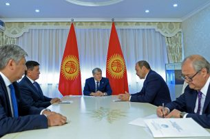 Визит премьер-министра РУз в Кыргызстан придаст новый импульс развитию двусторонних отношений, – Алмазбек Атамбаев