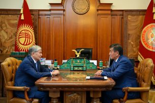 Президент Алмазбек Атамбаев принял отставку премьер-министра