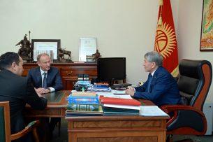 Кыргызстан и Россия обсудили актуальные вопросы региональной и международной безопасности