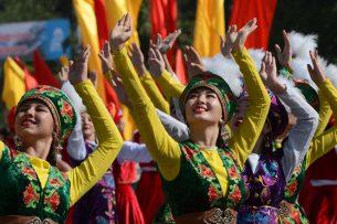 Фоторепортаж: Кыргызстан празднует День независимости
